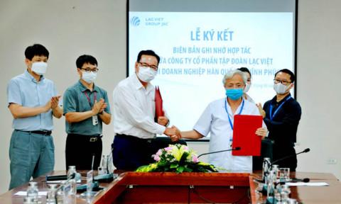 Công ty Cổ phần Tập đoàn Lạc Việt ký hợp tác với Hội Doanh nghiệp Hàn Quốc tại Vĩnh Phúc