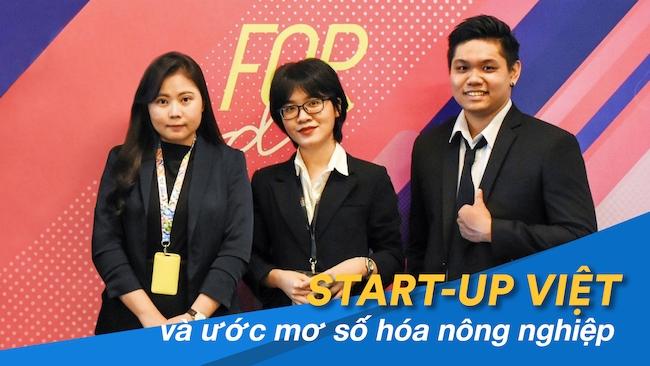 Nhóm sáng lập startup AgriBiz