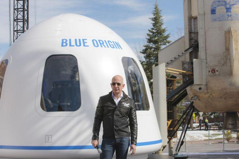 Tỷ phú Bezos đã đầu tư hàng tỷ USD vào các công ty khởi nghiệp tên lửa của mình và Bezos sẽ du hành vào vũ trụ trên một tên lửa do chính công ty của ông phát triển