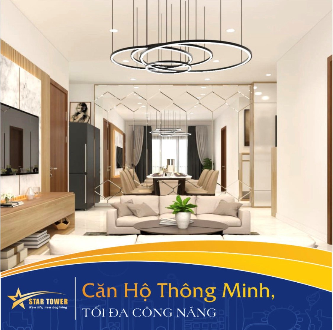 Dự án Star Tower An Phú, Thuận An vượt tiến độ thi công, khách hàng sớm nhận nhà trong năm nay.