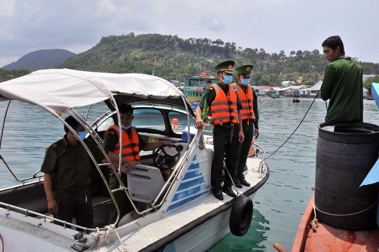Phú Quốc: Siết chặt kiểm soát, ngăn chặn người xuất nhập cảnh trái phép