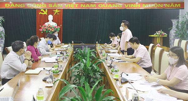NHCSXH làm việc với Văn phòng điều phối nông thôn mới Trung ương
