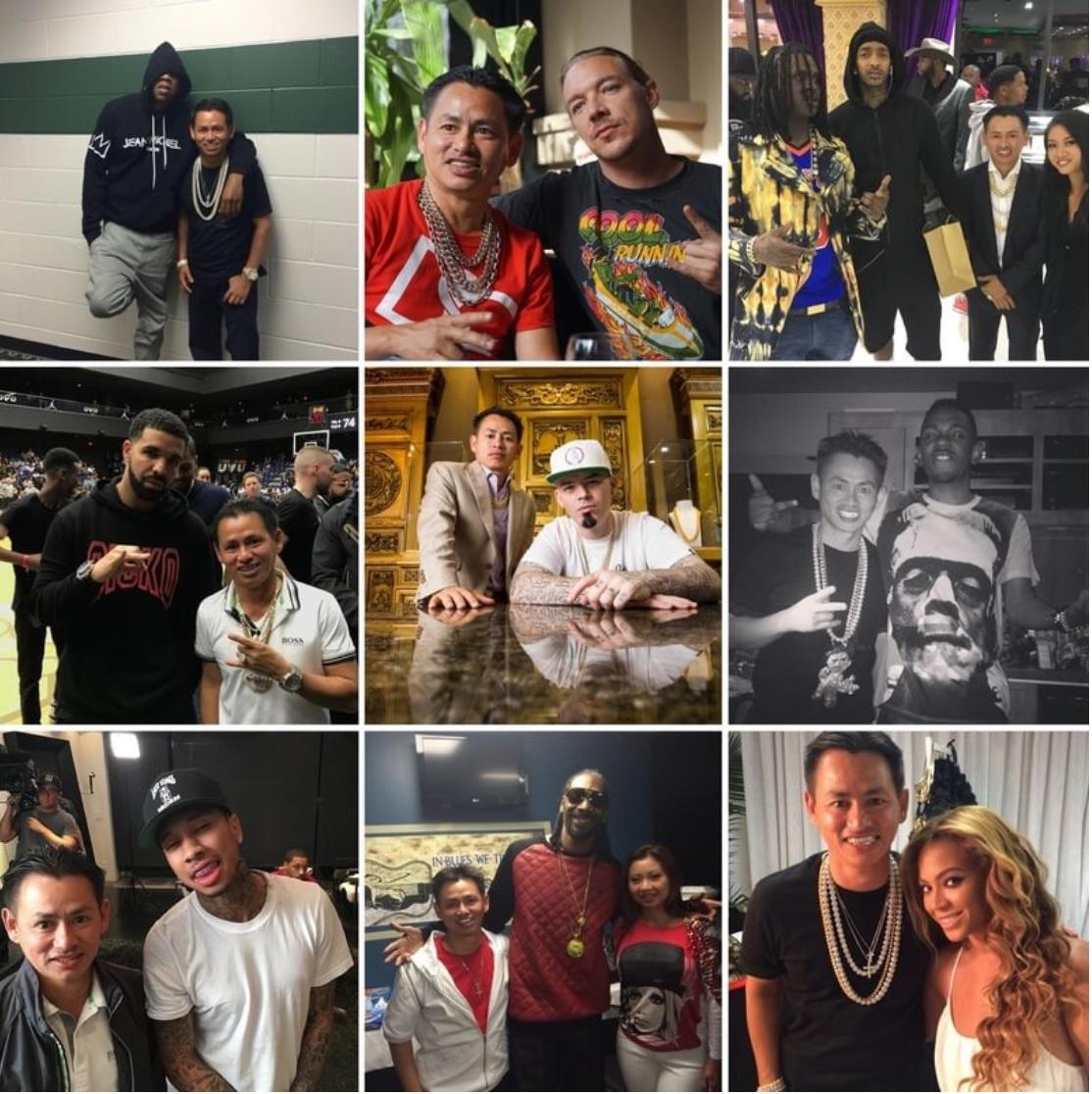 Tên tuổi những ngôi sao chọn Johnny Đặng đủ để nói lên tầm ảnh hưởng lớn của ông trong giới nghệ sĩ, đặc biệt là rapper. Nguồn ảnh: Internet