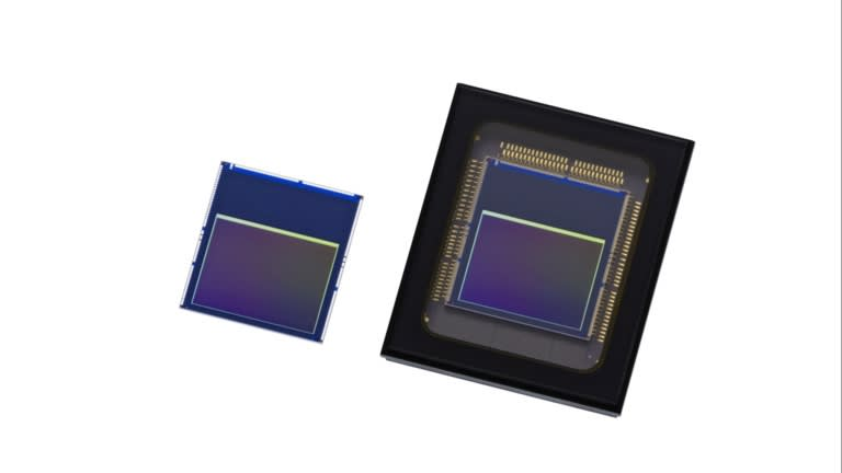 Cảm biến hình ảnh với chức năng xử lý dữ liệu của trí tuệ nhân tạo do Sony phát triển đang thúc đẩy sự ra đời của các chất bán dẫn lõi mới cho điện thoại thông minh. (Ảnh do công ty cung cấp)