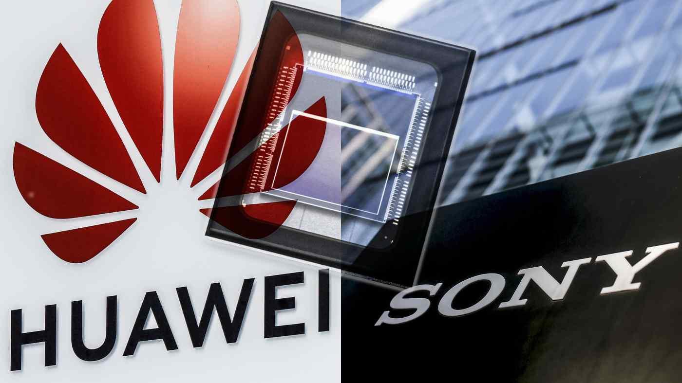 Huawei là một đối tác quan trọng trong sự phát triển kinh doanh chất bán dẫn của Sony. (Nguồn ảnh Reuters)