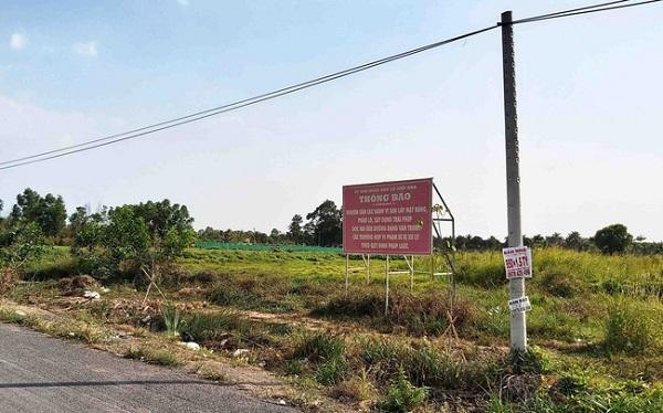 UBND Q.Tân Bình cảnh báo tình trạng phân lô,bán nền tại 3 khu đất quy hoạch đường xe lửa dự kiến thuộc phường Bình Hưng Hoà B