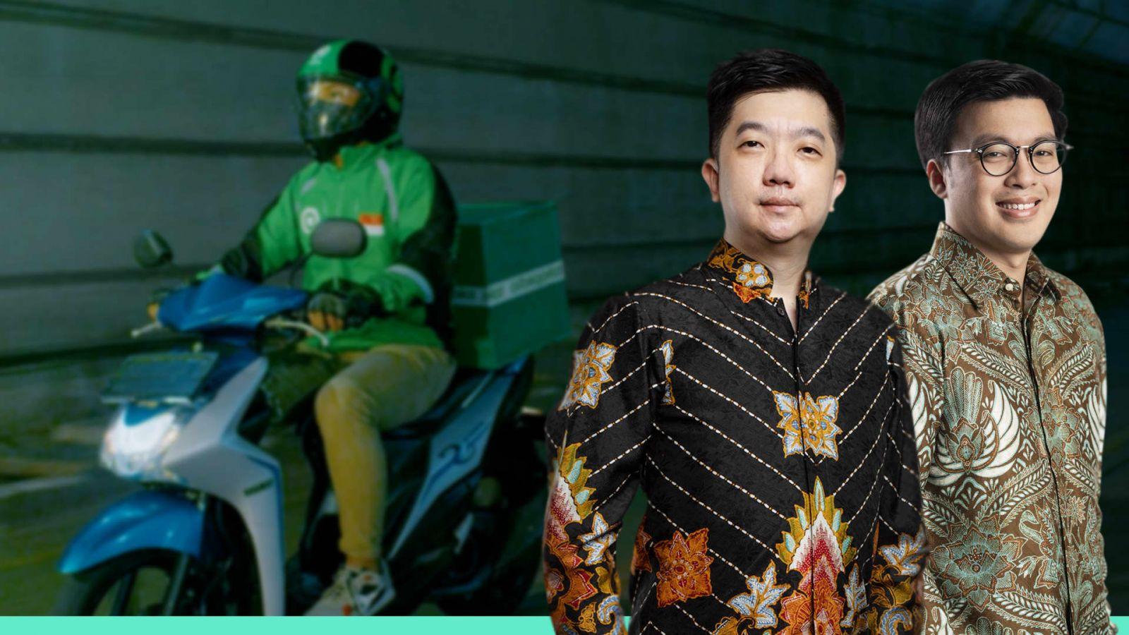 Kevin Aluwi và William Tanuwijaya, là thành viên sáng lập của GoTo Group, công ty công nghệ mới nhất và có giá trị nhất của Indonesia.