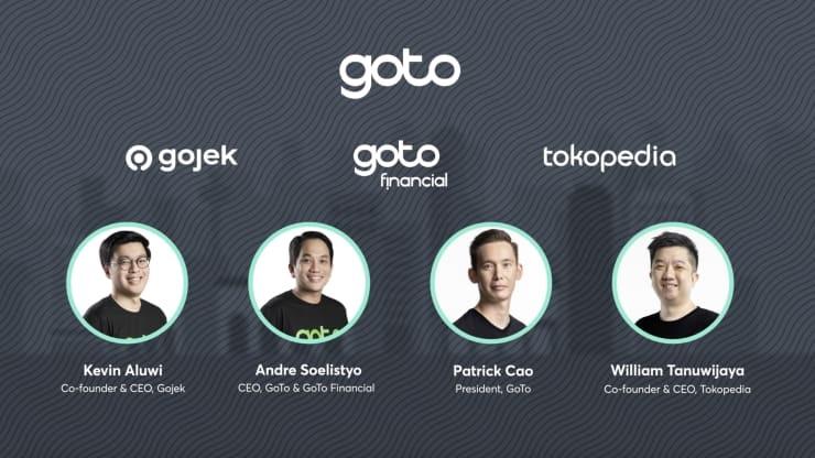 GoTo Group của công ty công nghệ Indonesia bao gồm ba chi nhánh kinh doanh là Gojek, GoTo Financial và Tokopedia.CNBC