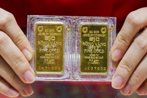 Hai thương hiệu vàng trong nước tăng giảm trái chiều nhau