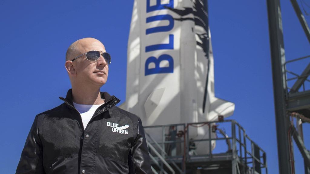Jeff Bezos và Blue Origin