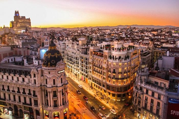 Madrid, thủ đô Tây Ban Nha
