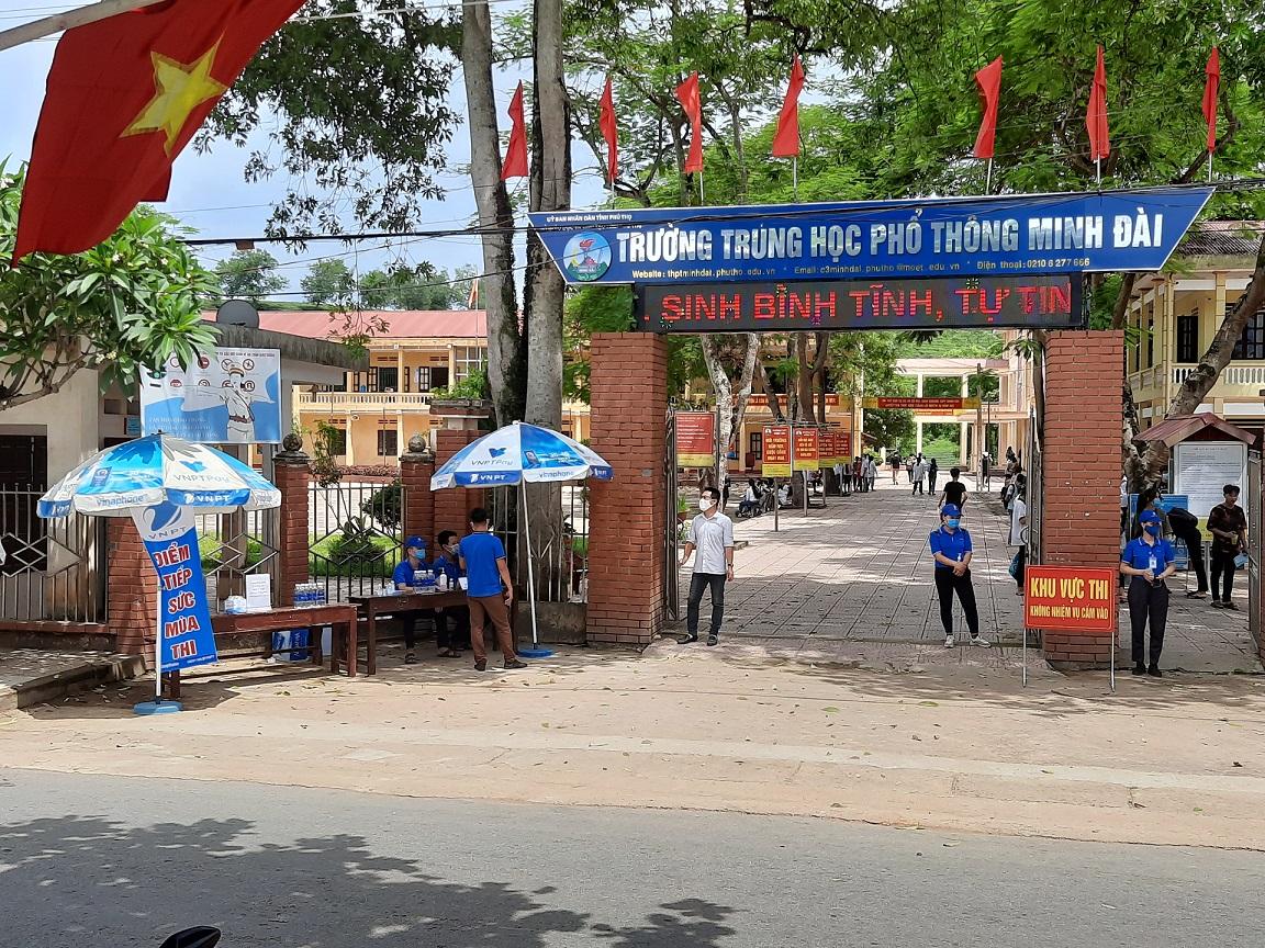 Điểm trường Minh Đài, huyện Tân Sơn (Phú Thọ)