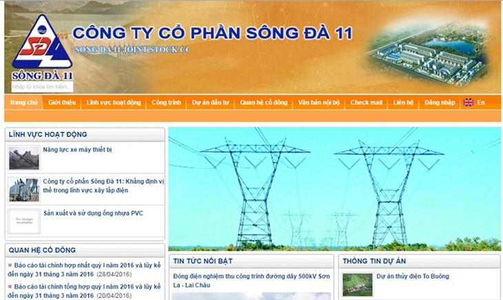 Sông Đà 11 đặt mục tiêu tăng trưởng lợi nhuận 57%