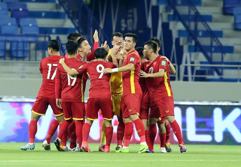 Đội tuyển bóng đá Việt Nam quyết tâm chiến thắng khi đối đầu với tuyển Malaysia để giành vé đi tiếp