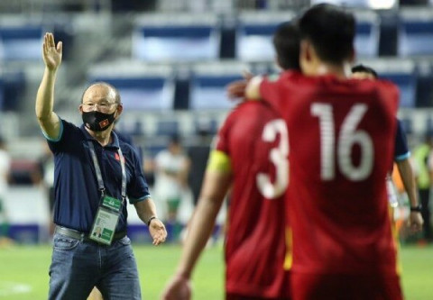 Đội tuyển bóng đá Việt Nam tập trung tối đa cho trận quyết chiến với Malaysia vào đêm nay 11-6