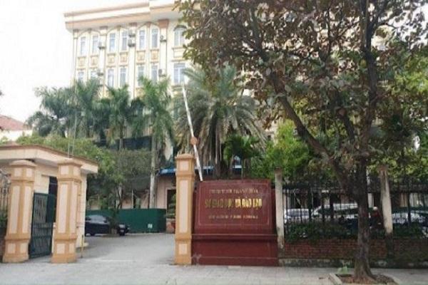 Sở Giáo dục đào tạo tỉnh Thanh Hóa