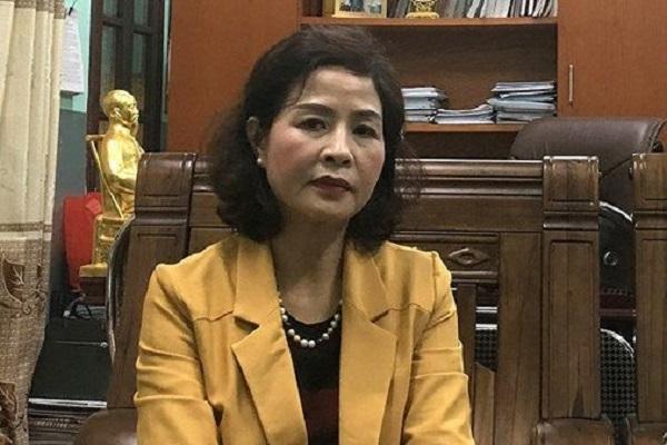 Bà Phạm Thị Hằng nguyên Giám đốc Sở Giáo dục và Đào tạo Thanh Hóa