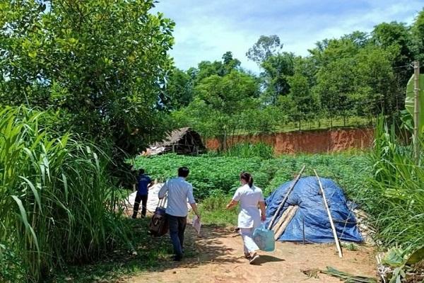 Phát hiện bệnh nhân tái dương tính tại xã Kiên Thọ huyện Ngọc Lặc