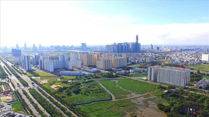 Nhiều dự án bất động sản ở TP.HCM bị