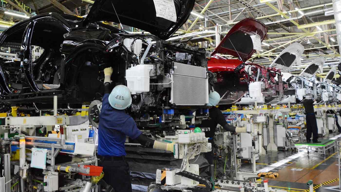 Toyota tìm cách giảm lượng khí thải carbon tại các nhà máy lắp ráp và trong toàn bộ chuỗi cung ứng của mình. (Ảnh: Toyota)