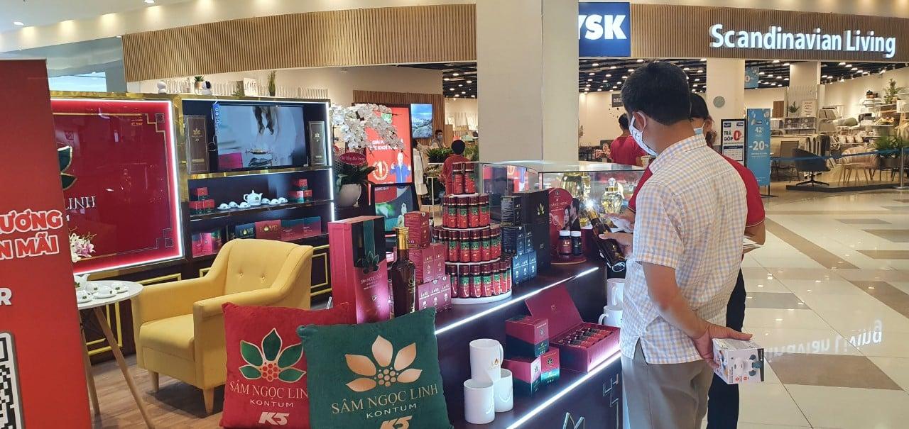 Hiện tại, Công ty CP Sâm Ngọc Linh Kon Tum cũng cho ra thị trường các sản phẩm được chiết xuất từ sâm Ngọc Linh K5.