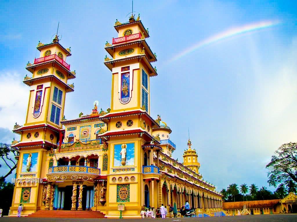 Tòa thánh Cao Đài Tây Ninh(nguồn: Internet)