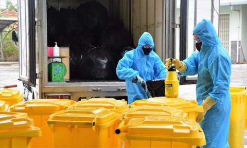 Yêu cầu quản lý chặt chất thải ở các khu vực cách ly tập trung