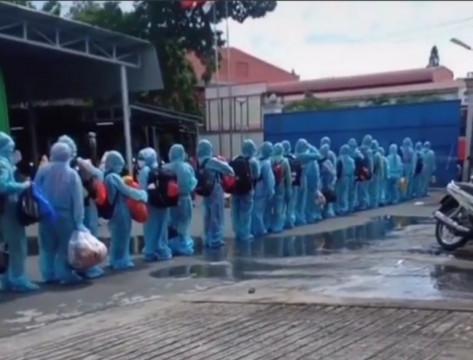 Bình Dương – Thêm 4 ca dương tính với SARS-CoV-2, hàng ngàn người phải lấy mẫu xét nghiệm khẩn
