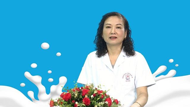 PGS.TS Trịnh Bảo Ngọc chia sẻ