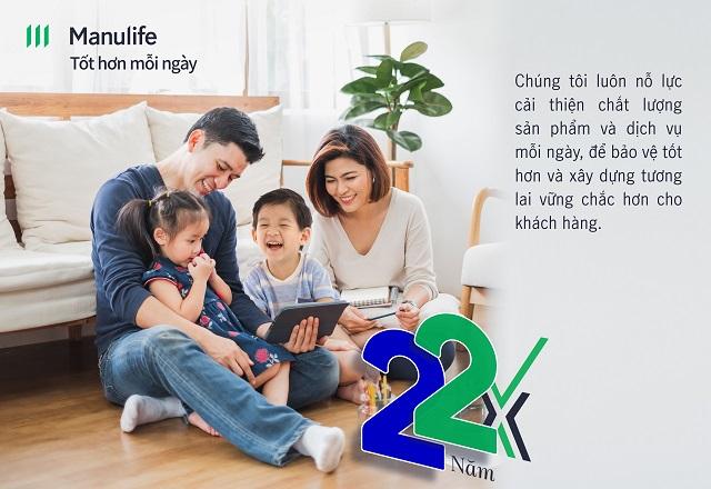 """Manulife Việt Nam kỷ niệm 22 năm thành lập - tiếp tục thực hiện cam kết vì cuộc sống """"Tốt hơn mỗi ngày"""""""