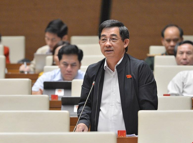 Ông Huỳnh Thành Chung. Ảnh: Quốc hội.