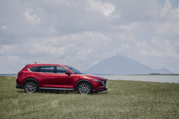 Mazda CX-8 đang được ưu đãi lên đến 120 triệu đồng