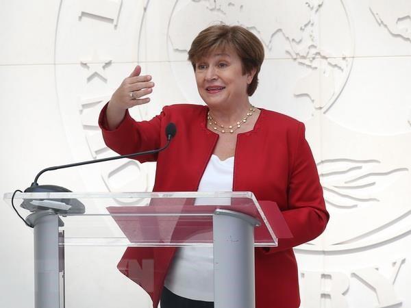 Tổng Giám đốc Quỹ Tiền tệ Quốc tế (IMF) Kristalina Georgieva
