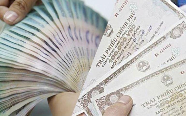 Giá trị trái phiếu chính phủ phát hành trong tháng 5 tăng 68% so với tháng trước