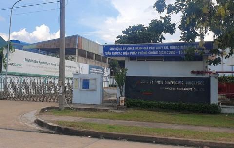 Công ty TNHH Map Pacific Singapore tại Khu công nghiệp Amata (Đồng Nai) tạm ngừng hoạt động vì có ca F1