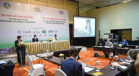 Việt Nam lần đầu đối thoại về hệ thống lương thực thực phẩm