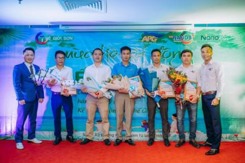 Thế Giới Sơn Hạ Hòa - Phú Thọ: Showroom thành công nhất trong hệ thống Công ty CP Tập đoàn Thế Giới Sơn