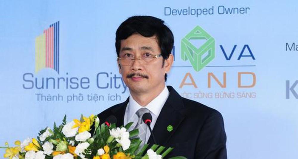 Ông Bùi Thành Nhơn - Chủ tịch HĐQT CTCP Tập đoàn Đầu tư Địa ốc No Va (Novaland). Nguồn ảnh: Internet