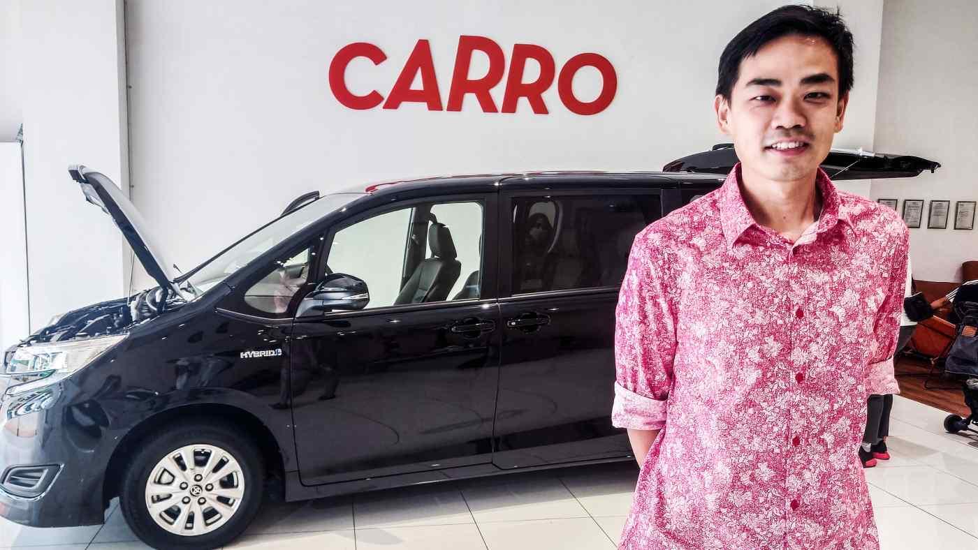 Giám đốc điều hành của Carro, Aaron Tan cho biết bảo hiểm và tài trợ B2B là những lĩnh vực mà công ty của ông quan tâm. (Ảnh của Dylan Loh)