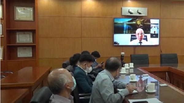 Ông Peter Hồng chia sẻ tại buổi kết nối trực tuyến