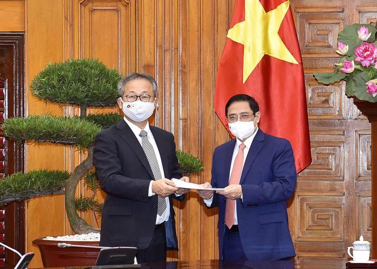 Nhật Bản hỗ trợ Việt Nam một triệu liều vaccine Covid-19