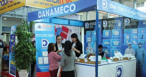 Đối mặt với nguy cơ thiếu nguyên liệu, Y tế DANAMECO thu về 120 tỷ đồng trong nửa đầu năm