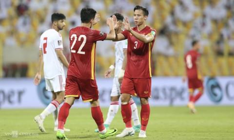 Đội tuyển bóng đá Việt Nam lần đầu tiên trong lịch sử vào thẳng vòng chung kết Asian Cup 2023.