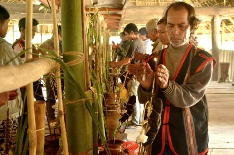 """Lễ """"Ét đông"""" của nhóm Giơ Lâng (Ba Na) Kon Tum được công nhận Di sản văn hóa phi vật thể Quốc gia"""