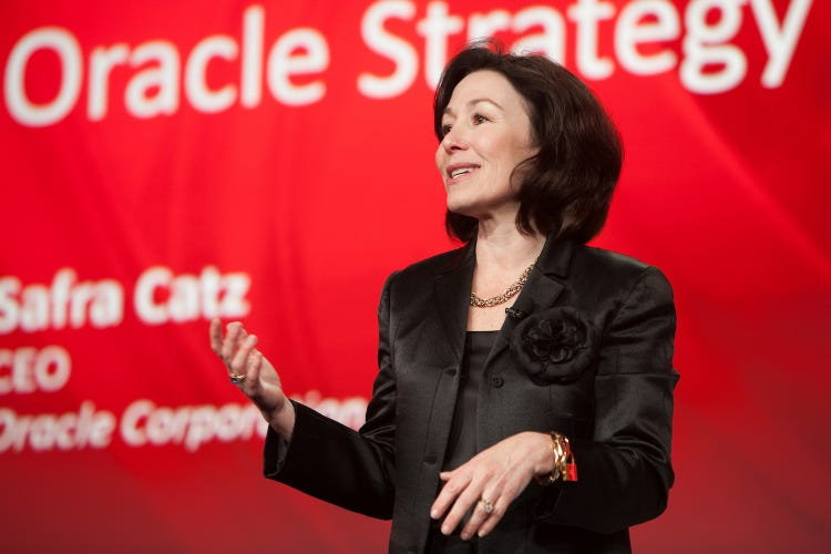 Safra Catz, Giám đốc điều hành của Oracle