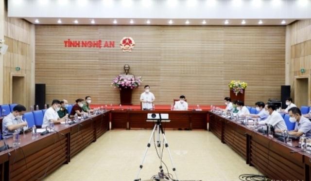 Chủ tịch tỉnh Nghệ An quyết định giãn cách xã hội toàn bộ TP. Vinh từ 0h ngày 17/6 để phòng chống dịch Covid-19