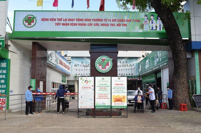 Nghệ An: Bệnh viện Đa khoa TP. Vinh được phép trở lại hoạt động khám, điều trị cho bệnh nhân mới từ 14h ngày 17/6