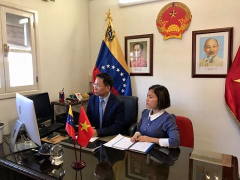 Thúc đẩy giao dịch thương mại B2B giữa Việt Nam và Venezuela