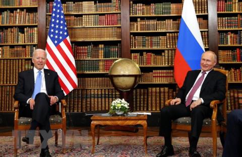 Điện Kremlin đăng Tuyên bố chung về ổn định chiến lược sau Hội nghị thượng đỉnh Nga -Mỹ tại Geneva