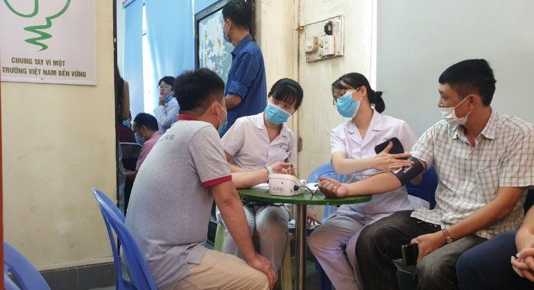 Hải Phòng: Tiêm phòng vắc xin COVID -19 cho lực lượng báo chí
